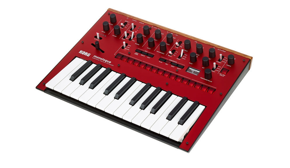 Монофонический аналоговый синтезатор KORG MONOLOGUE-RD: фото